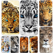 Lion tiger head Hard Case Cover for Huawei P10 P9 P8 Lite Plus P7 6 G7 & Honor 8 Lite 4C 4X 7