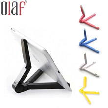 Olaf Universal Folded Desktop Tablet Bracket Cellphone Stand For iphone 7 6 6s ipad Samsung Xiaomi Fashion 360 Degree Rotated