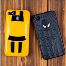 Free shipping limited edition Transformers Bumblebee Coupe case for iphone 4s iphone4 phone shell mobile phone shell casing