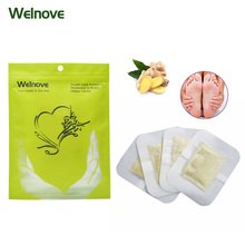 10Pcs Ginger Essential Detox Foot Patch Chinese Medicine Patches With Adhesive Organic Herbal Cleansing Patch Massage Z06210