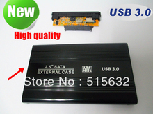 "New 2.5"" USB 3.0 SATA External Hard Drive HD Mobile Disk Enclosure/Case Black(China)"