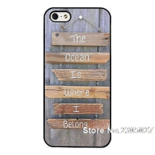 Ocean Surfing Quote Surf Waves Sea case cover for iphone 5s 6 6s 6plus 7 7plus Samsung galaxy note5 s3 s4 s5 s6 edge s7 edge