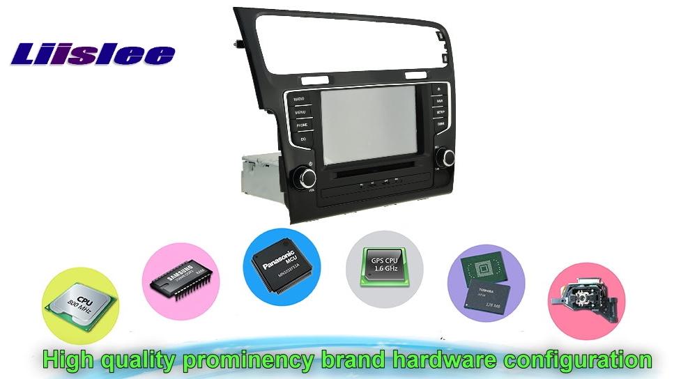 For VW Golf7 2013 Car Multimedia TV DVD GPS Original Style Navigation Android Advanced Navi Hardware configuration