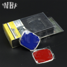 WBF Racing---Fit for Honda steering wheel badge car emblem red emblem Car styling for honda civic fit jazz Three colors