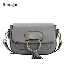 Arnagar luxury handbags women bags designer high quality genuine leather bags small women messenger bags 2017 lady shoulder bags