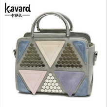 Fashion Spring Plaid Patchwork Tote Bags For Women Luxury High Quality Sac a Main Shoulder Bag Designer Famous Brand Handbags(China)