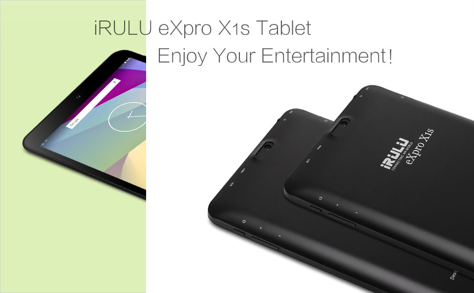 """Hot iRULU eXpro 1S Tablet 8"""" Android 5.1 Lollipop 800*1280 IPS HD Display 1+16GB Quad Core GMS Certified Graphics Tablet"""
