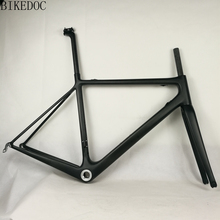 BIKEDOC Carbon Frames 700C Carbon Road Bike Frame Light Weight Bicycle Frames Fast Delivery(China)