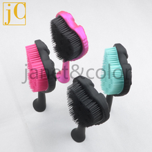 24cm Super Big Brush Detangling hair brushes Handle new fashion comb 4 colors Hot style tool wet dry hair Free shipping