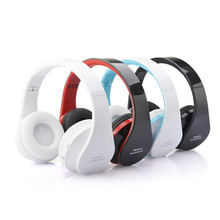 Original NX-8252 Bluetooth Wireless Stereo Headphones Foldable Sports Earphone with Microphone Bluetooth Headset for iPhone