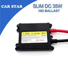 1X DC12V 35W Slim Xenon HID Replacement Electronic Digital Conversion Ballast For H1 H4 H7 H11 9005 9006 Xenon kit Free shipping