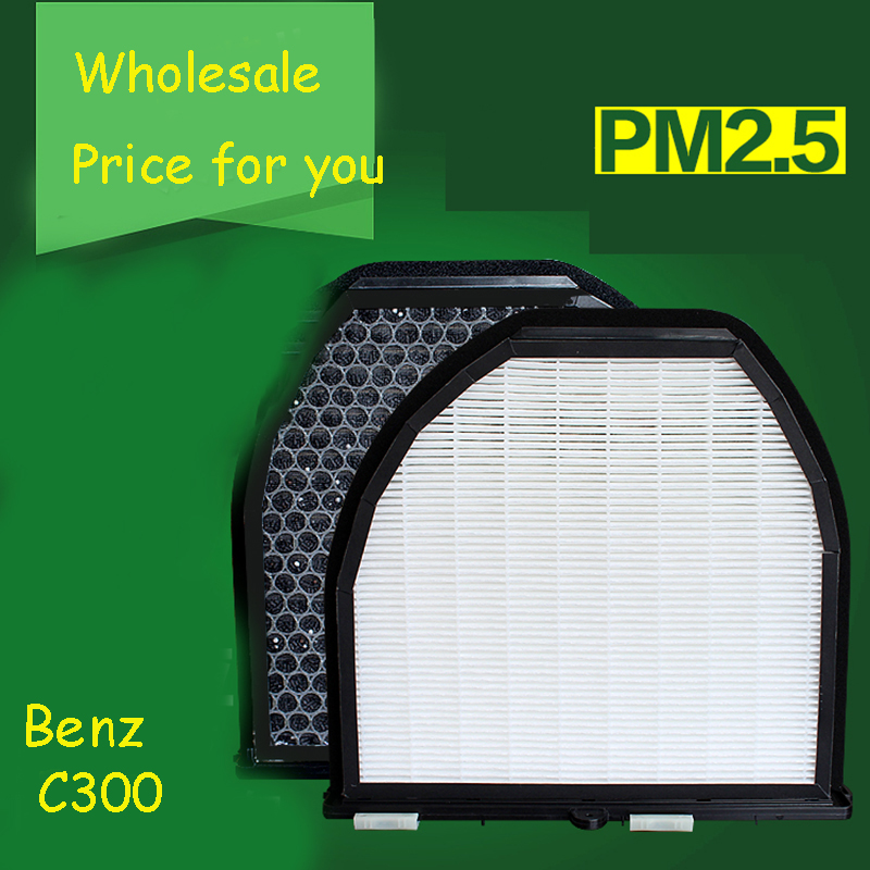 1pcs High Quality Actived Carbon Heap Car Air Filter For Benz C300 Car Air Conditioner Air Purifier Freshener<br><br>Aliexpress