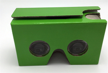 3D Glasses VR Black Green Google Cardboard  Virtual Reality Box V2O culus Goggles Rift for iPhone 4.7 5.5 inch Android iOS  COOL
