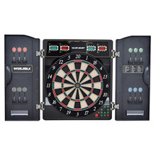 Professional Electronic Dartboard Target Dart Game Set With 12pcs Darts for Adults Playing 27 Games 159 Different Gameplay 18''