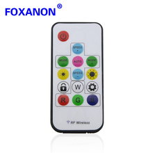 Remote Control + Wireless RF 14keys Led RGB Controller 300kinds Of Change 2048 Pixels For WS2811 WS2812 WS2812B DC 5V LED Strip(China)
