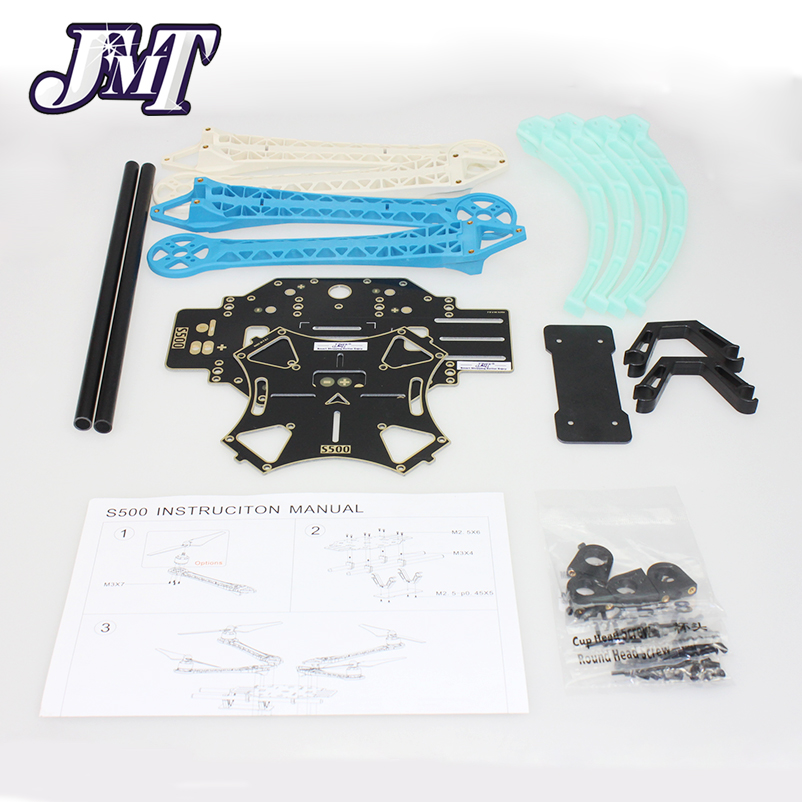 JMT Frame Kit Multi-Rotor Air 500mm S500-PCB With Circuit Board For FPV Quadcopter For Gopro Gimbal F450 Upgrade F08191<br>