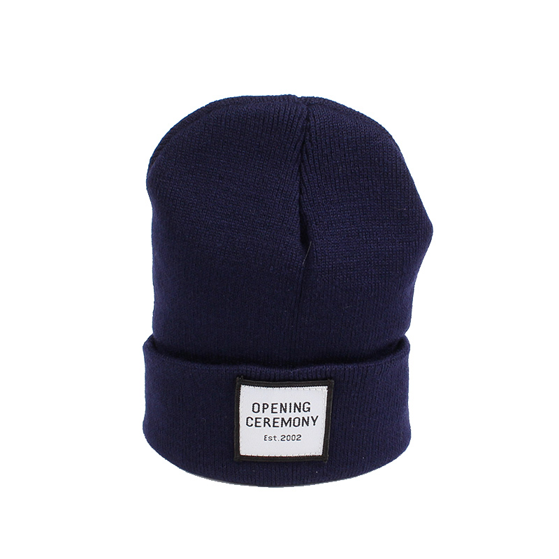 Knitted Cotton Women Beanie Hats Fashion OPENING CEREMONY Women Hats Autumn Winter Warm Female Hat Letter Hip Hop Women Skullies (7)