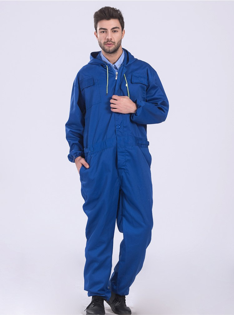 Work clothing Mens coverall repairman jumpsuits trousers working uniforms Workwear coveralls Plus Size long sleevel coveralls 39