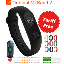 Buy Original Xiaomi Mi Band 2 Smart Fitness Bracelet watch Wristband Miband OLED Touchpad Sleep Monitor Heart Rate Mi Band2 Freeship for $17.85 in AliExpress store