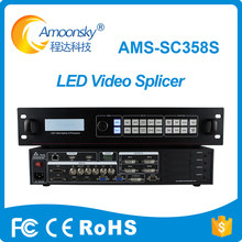 Amoonsky RGB LED Display HD AMS-SC358S LED Video Processor for LED Big Screen Display LED Sign Board SDI HDMI AV VGA DVI Inputs(China)