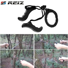 REIZ Multifunction Hand Tool Gear Pocket Chain Saw Hand Saw Chain Outdoor Emergency Survival Tool Camping Hiking ChainSaw(China)