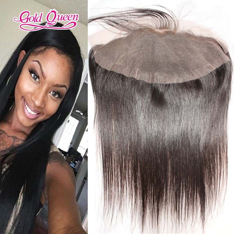 high quality lace frontal Brazilian virgin human hair lace frontal closure 13x4 free/middle/three part bleached knots sale<br><br>Aliexpress
