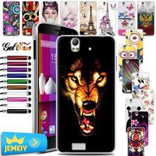 Fly FS507 Skin Art UV Printed TPU Gel Case For Fly IQ4512 EVO Chic 4 Quad Back Cover Case Fly FS507 Soft Silicone Bag