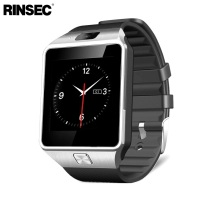 Rinsec New Fashion DZ09 Smart Watch with Camera Sim Card Slot Passometer Sleep Tracker Smart Anti-lost Sedentary Reminder