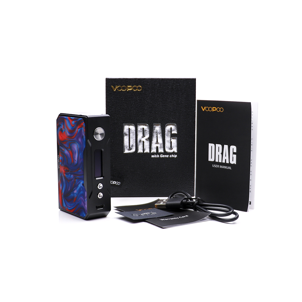 Voopoo Drag 157w mod black resin (10)