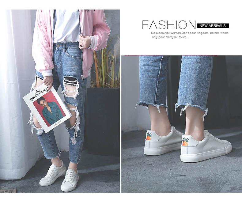 حذاء نساء لون ابيض 8