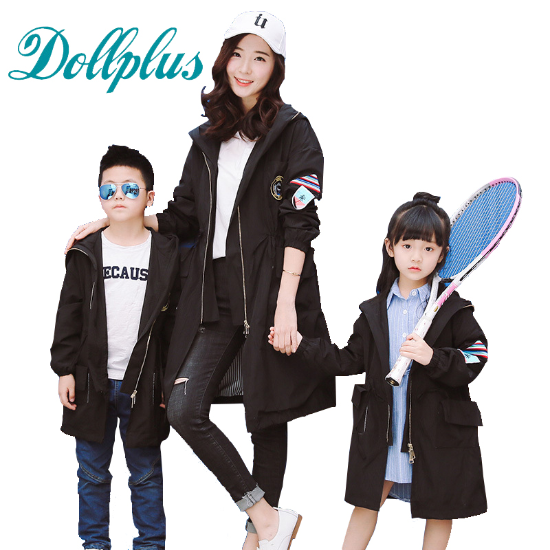 2017 spring mother and daughter clothes jackets fashion mother son outfits coats family look matching clothes<br><br>Aliexpress