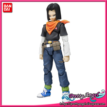 PrettyAngel - Genuine Bandai Tamashii Nations S.H.Figuarts Dragon Ball Z Android NO.17 Action Figure