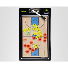 MAICCA New Magnetic Basketball Coaching Board Folding thick Coach board tactics set with Pen Teaching Clipboard Factory sale