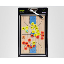 MAICCA New Magnetic Basketball Coaching Board Folding thick Coach board tactics set with Pen Teaching Clipboard Factory sale(China)