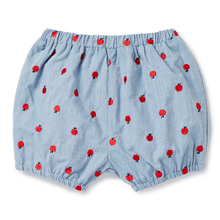 Toddler Girl Shorts Kids Clothes 2017 Brand Summer Baby Shorts Enfant Garcon 100% Cotton Apple Print Children's Shorts for Girls