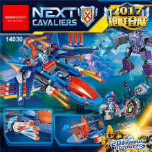 SERMOIDO Lepin 14030 Nexus Knights Series Clay's Falcon Fighter Blaster Set Building Blocks Bricks Small Toys 70351 - Store store