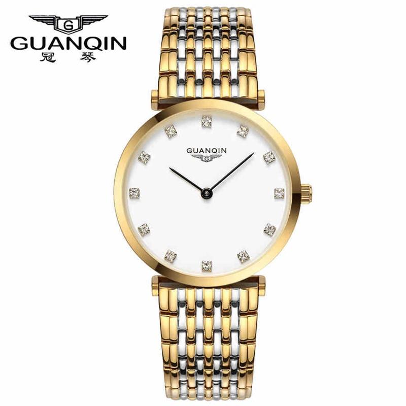 GUANQIN Watches Womens Waterproof Fashion Casual Quartz Watch TOP Brand Luxury Popular Classical Wristwatch ladies clock hours<br>