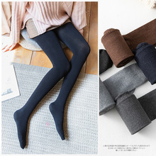 Buy Sexy Women Warm Tights Slim Pants Microfiber Thermal Fleece Lined Stockings Pantyhose Female Warm Velvet Pantyhose Winter