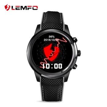 LEMFO LEM5 Android 5.1 1GB / 8 GB Smart Watch MTK6580 Bluetooth del teléfono Smartwatch GPS WIfi