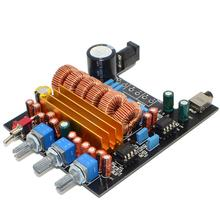 New TPA3116 2.1 Digital Amplifier Board Class D 3 Channel DC18V-24V 2*50W+100W Free Shipping 12003203(China)