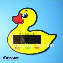 Free Shipping by DHL Duck Baby Bath Thermometer Water Temperature Tester