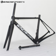 Buy 2018 winow super light carbon fiber road frame racing bike Full Carbon Frames,Carbon Bike Frame Bicycle for $358.00 in AliExpress store