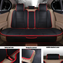 Yuzhe Leather car seat covers For Mazda 3 6 2 C5 CX-5 CX7 323 626 M2 M3 M6 Axela Familia car accessories styling