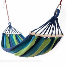 3 Colors Hammock Indoor Dormitory Single Hammock Canvas Hanging Bed Portable Swing Lazy Chair for Children Foldable Hammock(China)