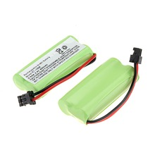 new arrival 2 Packs a set 2.4V 800mAh Cordless Phone Rechargeable Ni-MH Battery For Uniden BT-1008(China)