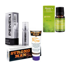 Buy 3pcs PEINEILI Male Delay Spray Prevent Premature Ejaculate + Indian god Oil big dick pills + Penis Enlargement Strong Man Cream