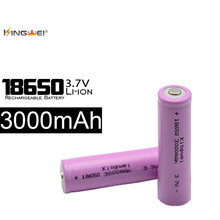 KingWei 10 18650 Battery 3.7v Rechargeable Real Capacity 3000mah Batteries Lithium li-ion - ShenZhenKingWei Store store
