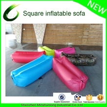 Top quality and cheap price Inflatable Air filling Lounger air bag portable festival camping air bed couch