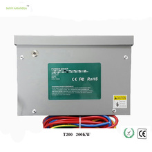 SANYI AMANDLA Power Saver 3 Phase 200KW Industrial Powerful Electricity Saving Box Indoor/Outdoor Device Energy Saving Equipment