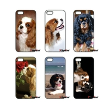 For Huawei Ascend P6 P7 P8 P9 P10 Lite Plus 2017 Honor 5C 6 4X 5X Mate 8 7 9 Kawaii Cavalier King Charles Spaniel Dog Phone Case